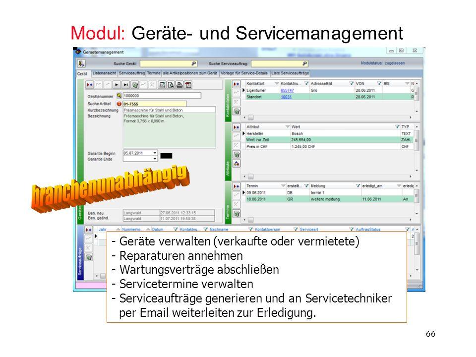 Modul: Geräte- und Servicemanagement