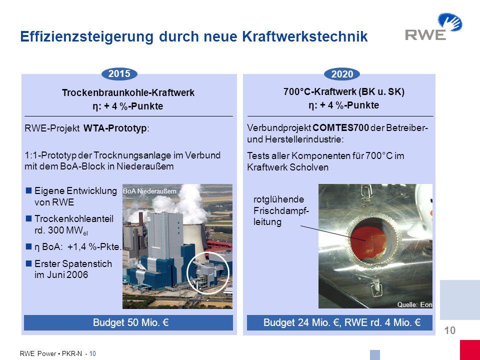 Trockenbraunkohle-Kraftwerk