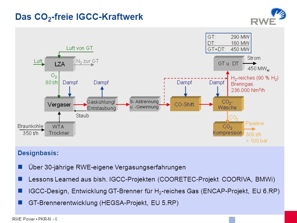 Das CO2-freie IGCC-Kraftwerk