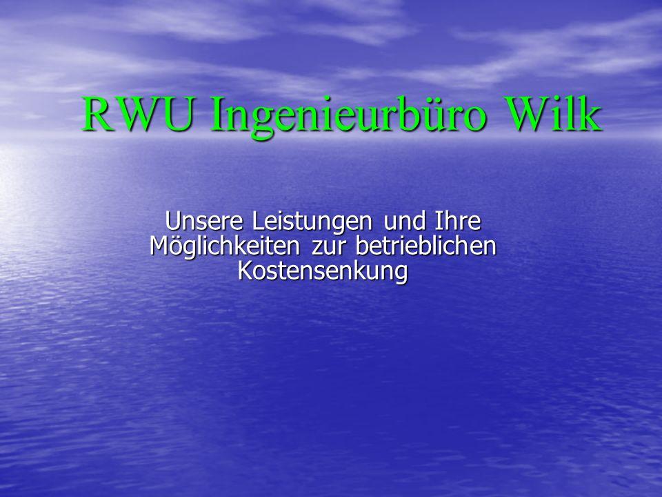 RWU Ingenieurbüro Wilk