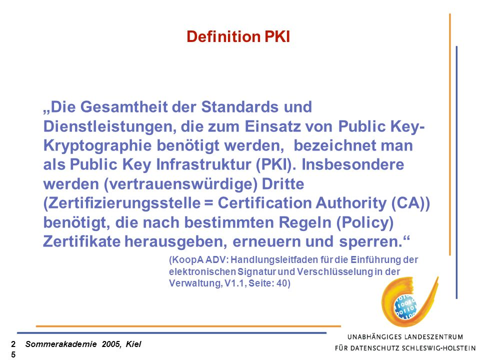 Definition PKI