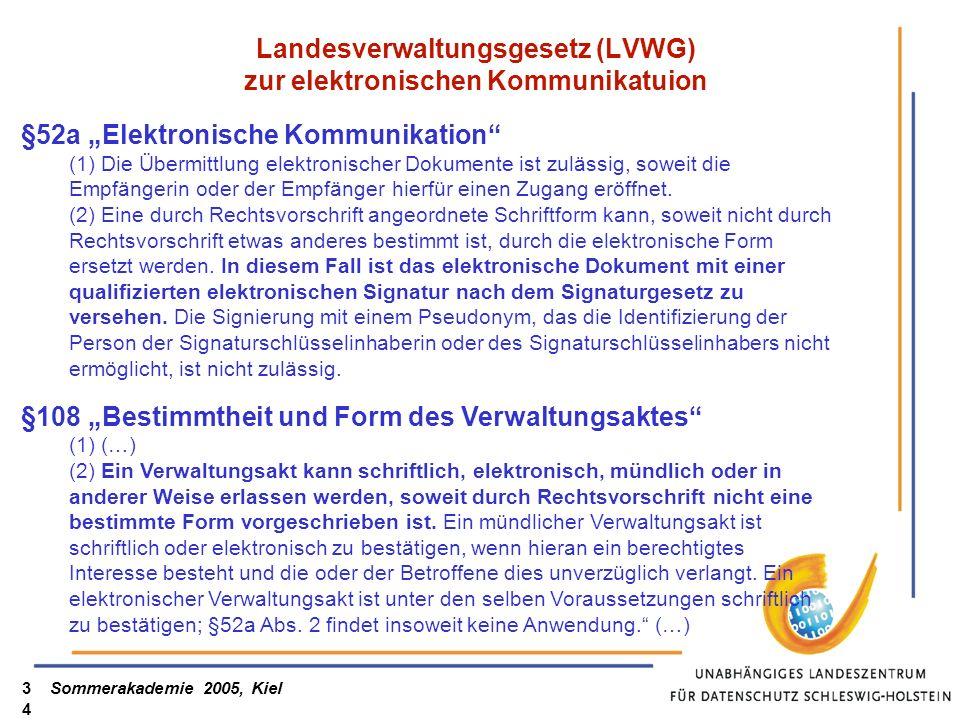 Landesverwaltungsgesetz (LVWG) zur elektronischen Kommunikatuion