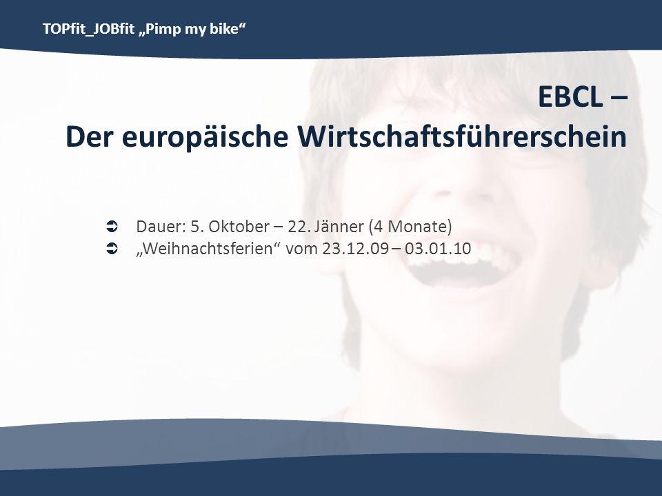 EBCL – Der europäische Wirtschaftsführerschein