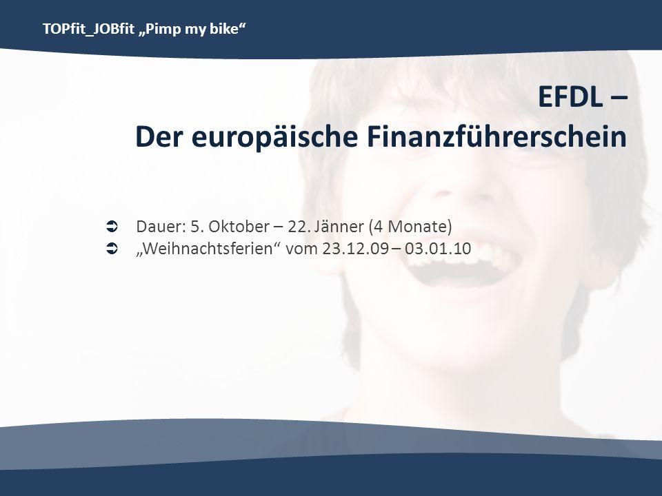 EFDL – Der europäische Finanzführerschein