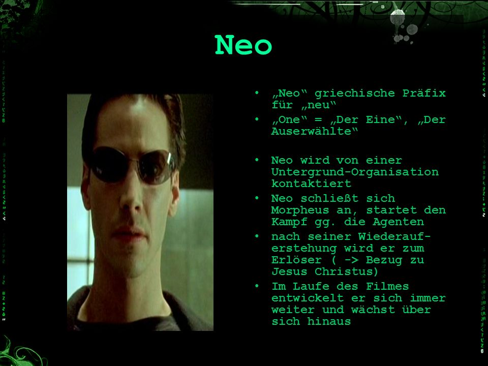 """Neo """"Neo griechische Präfix für """"neu"""