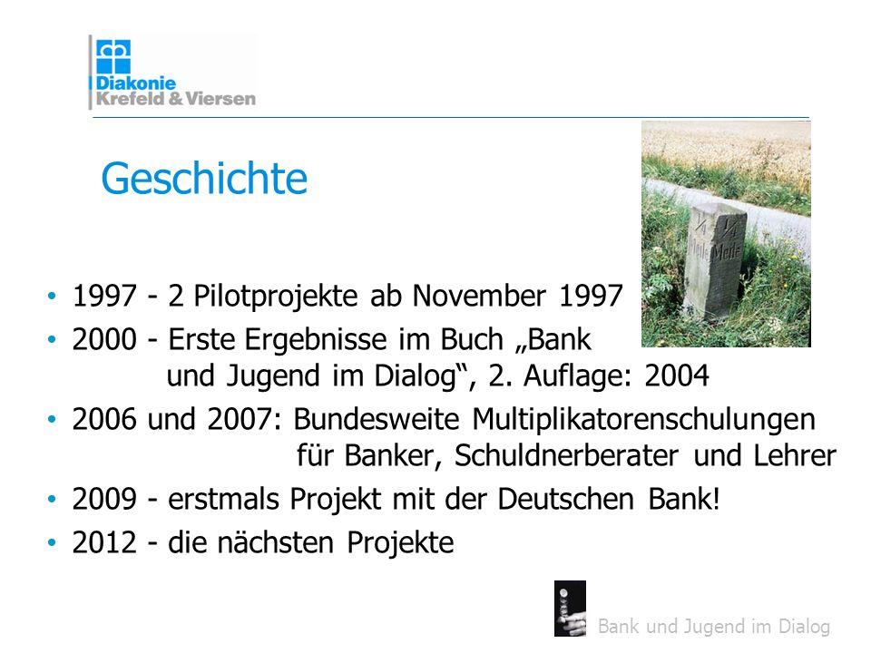 Geschichte 1997 - 2 Pilotprojekte ab November 1997