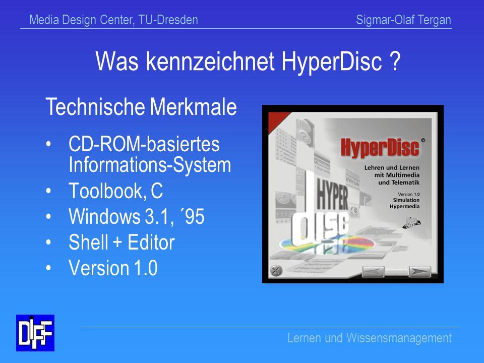 Was kennzeichnet HyperDisc