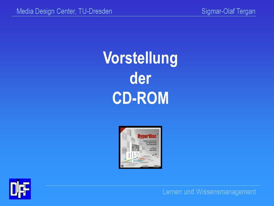 Vorstellung der CD-ROM