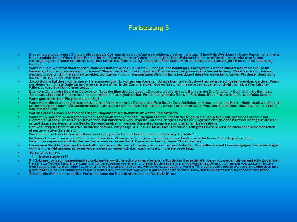 Fortsetzung 3