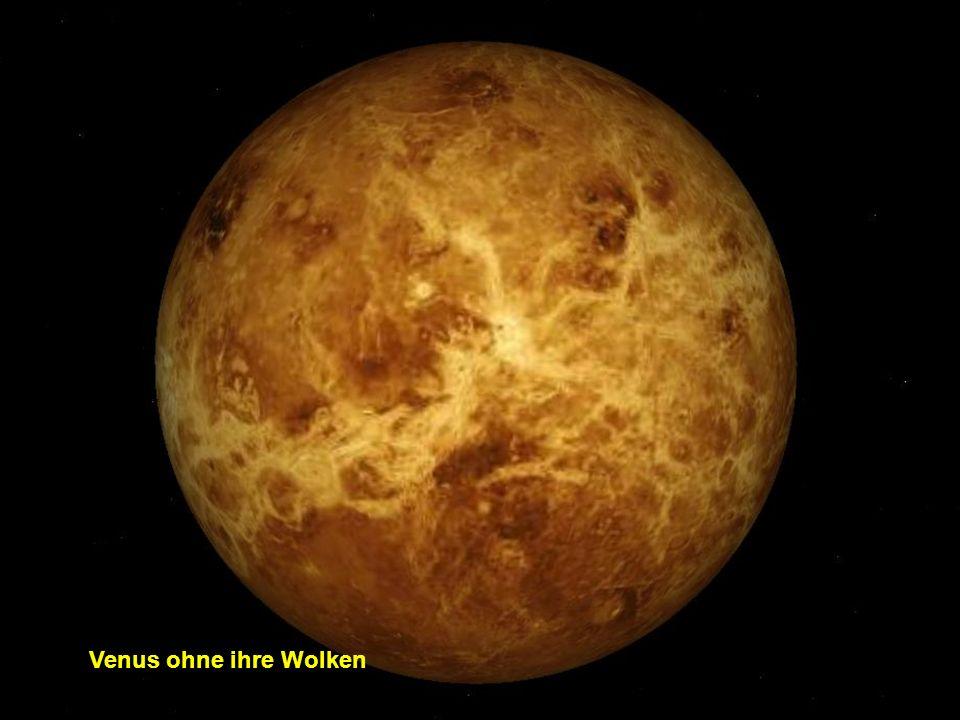 Venus ohne ihre Wolken
