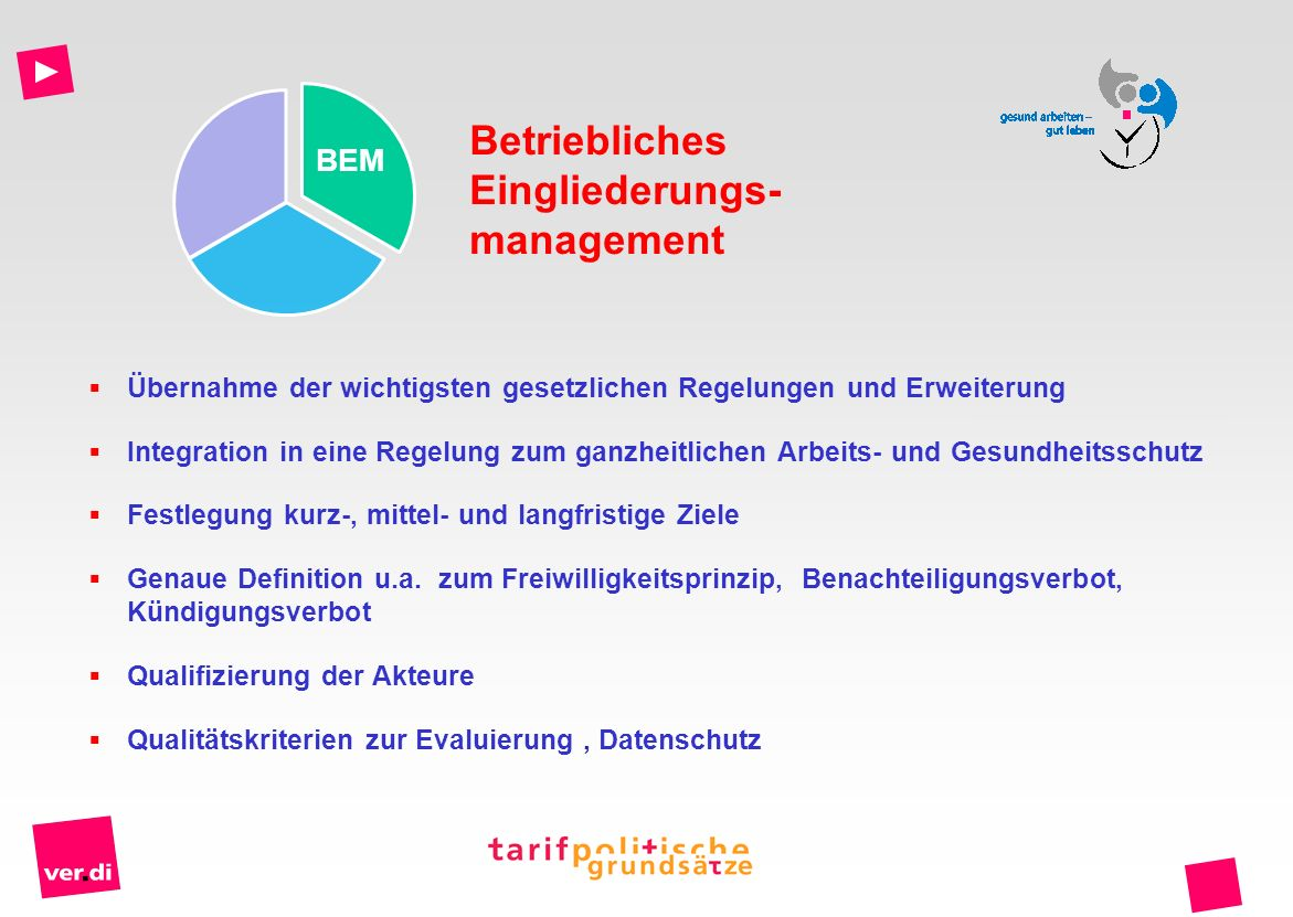 Eingliederungs-management