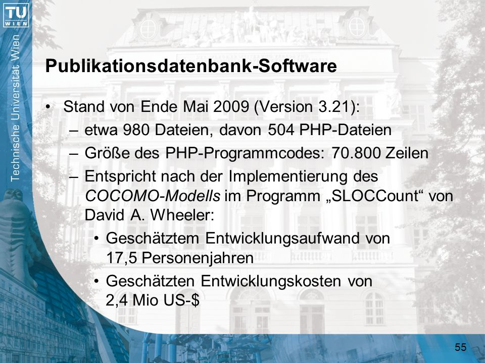 Publikationsdatenbank-Software