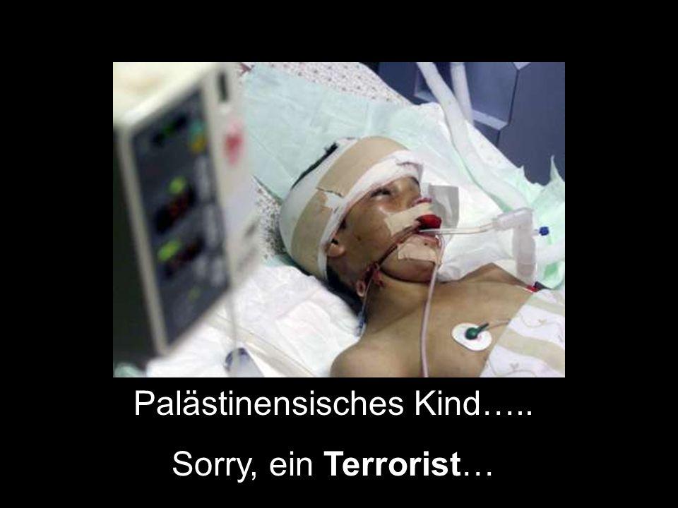 Palästinensisches Kind…..