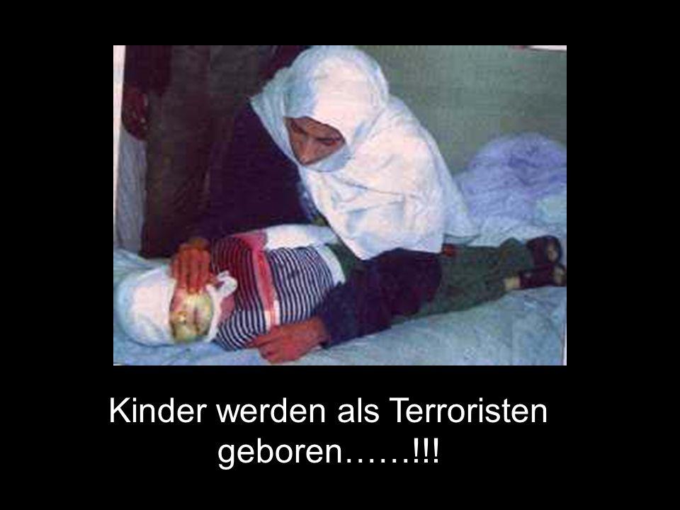 Kinder werden als Terroristen geboren……!!!