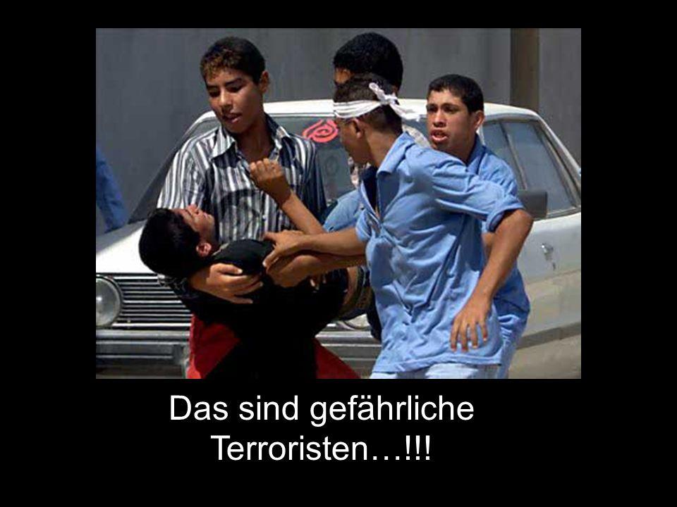 Das sind gefährliche Terroristen…!!!