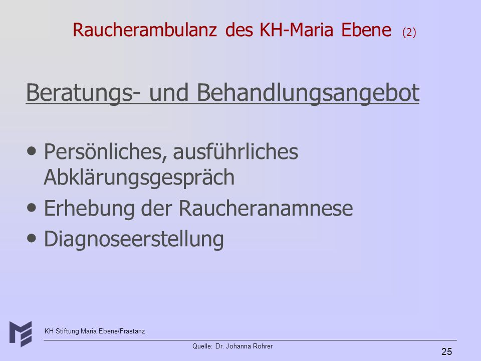 Raucherambulanz des KH-Maria Ebene (2)