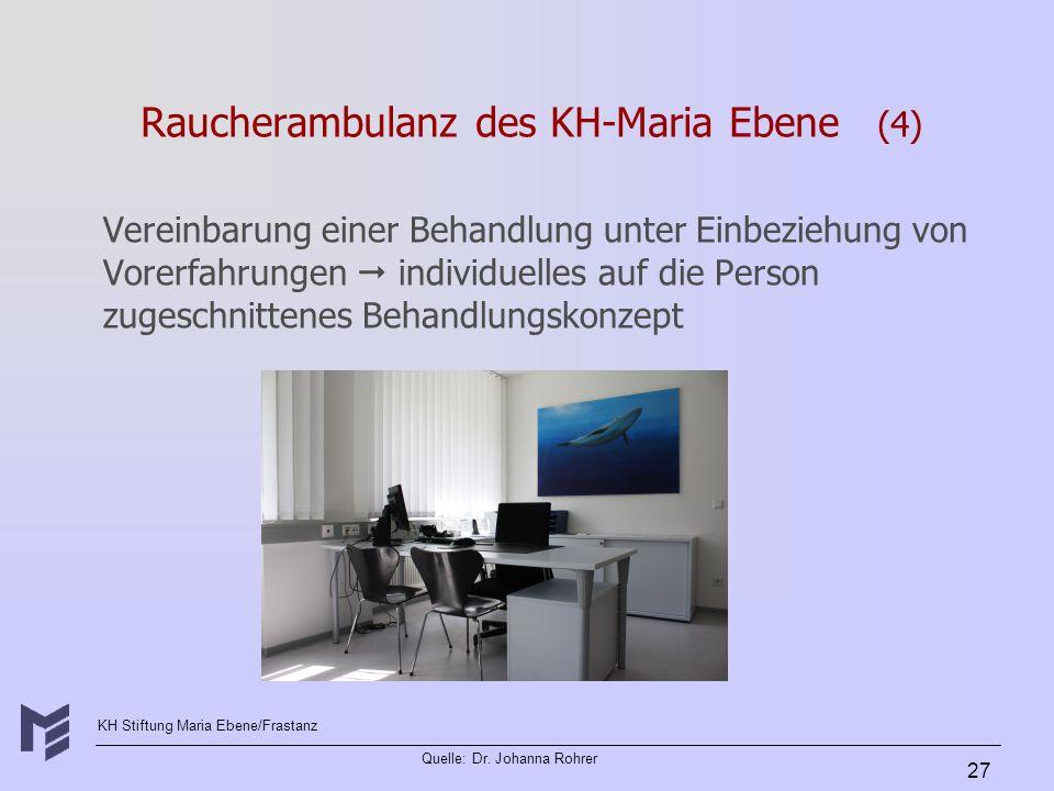 Raucherambulanz des KH-Maria Ebene (4)