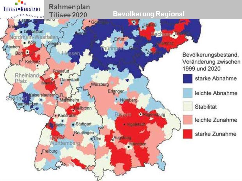 Bevölkerung Regional