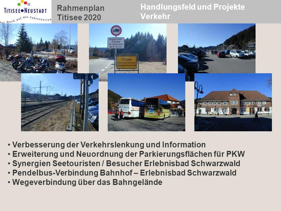 Handlungsfeld und Projekte Verkehr