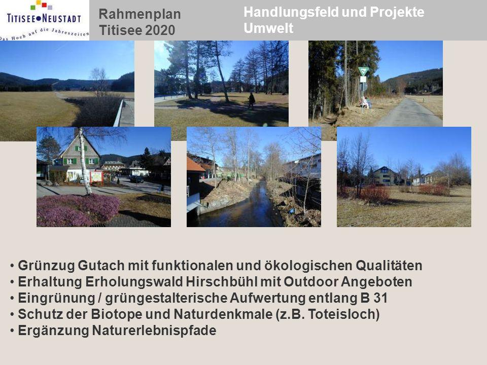 Handlungsfeld und Projekte Umwelt