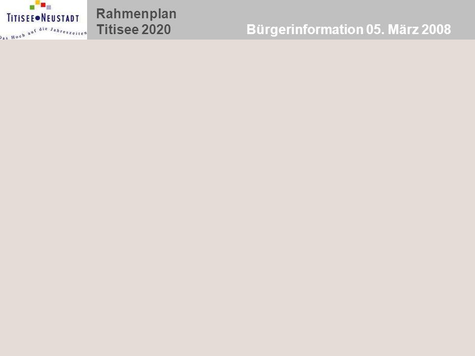 Bürgerinformation 05. März 2008