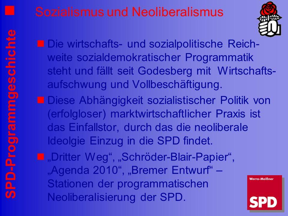 Sozialismus und Neoliberalismus