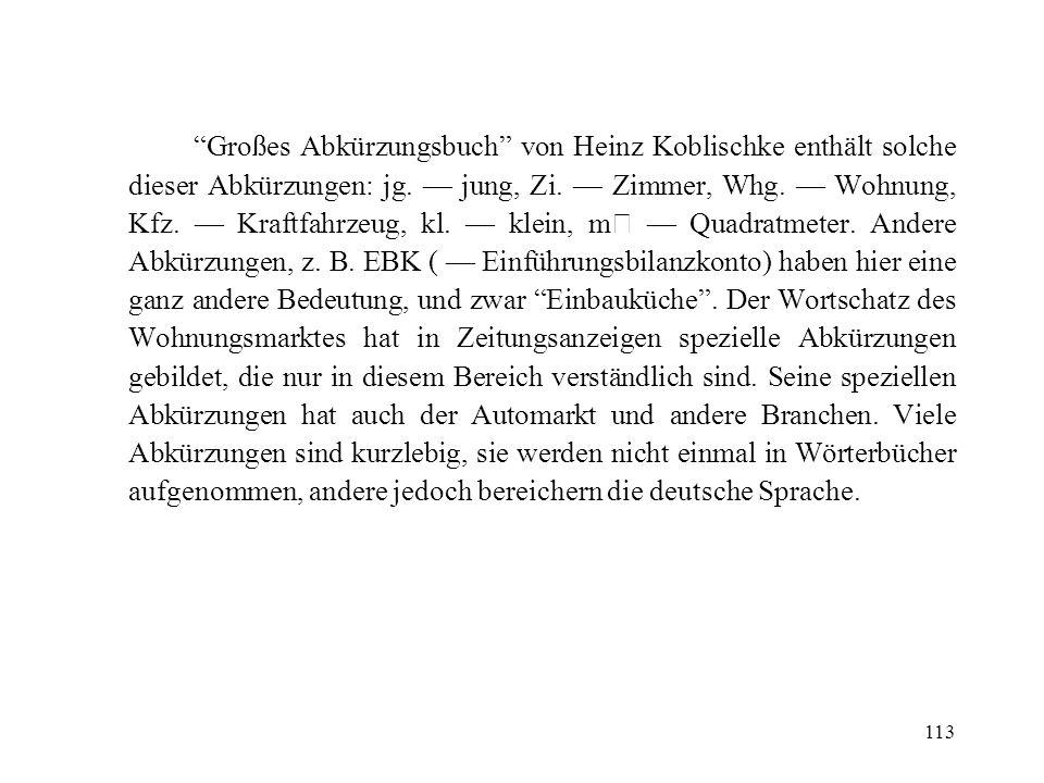 Großes Abkürzungsbuch von Heinz Koblischke enthält solche dieser Abkürzungen: jg.