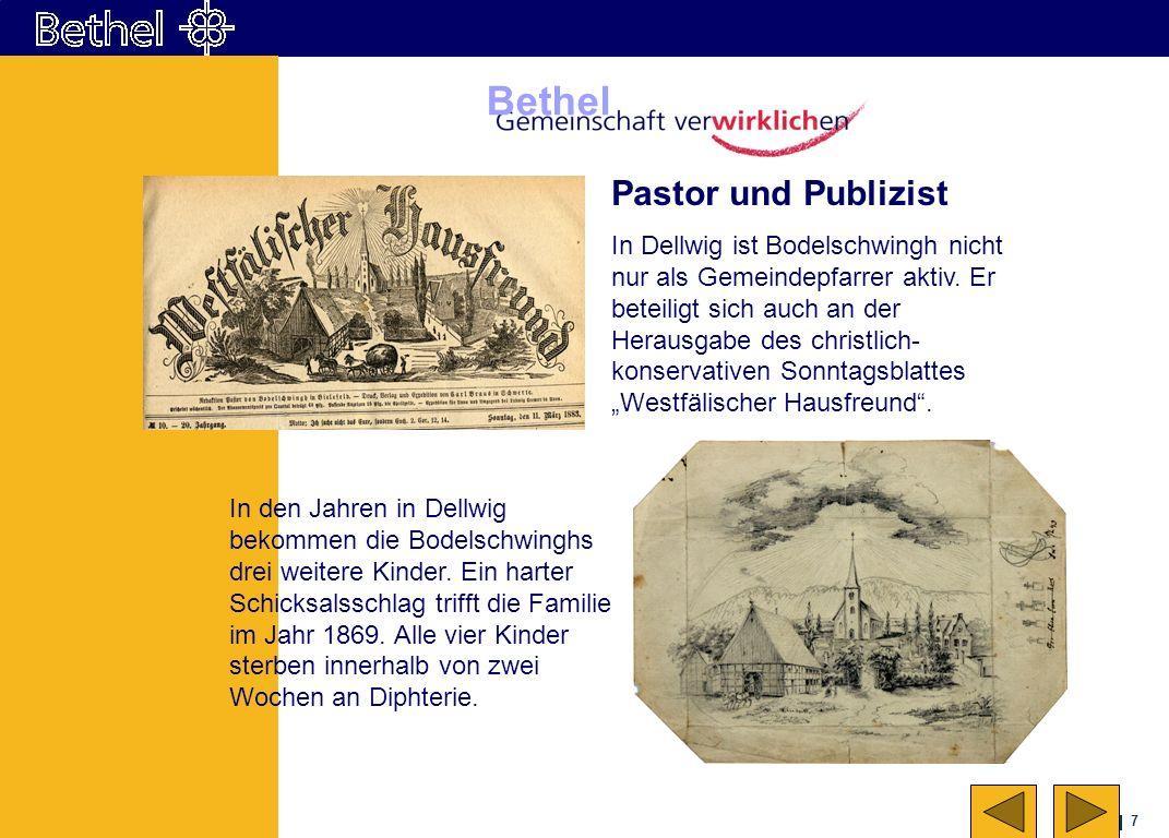 Pastor und Publizist