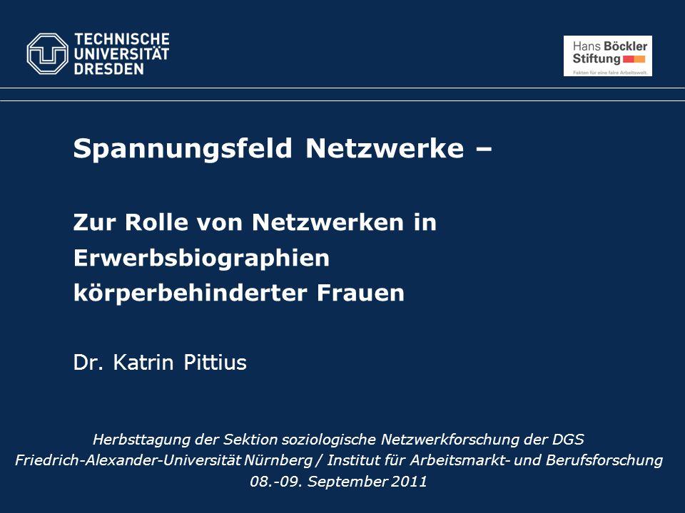 Herbsttagung der Sektion soziologische Netzwerkforschung der DGS