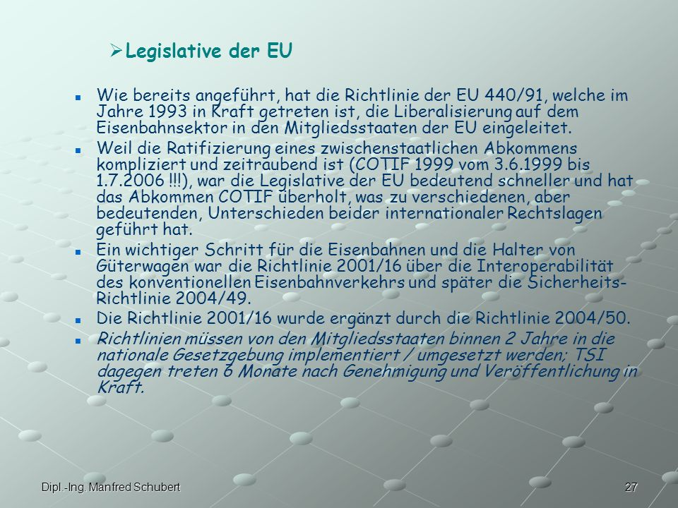 Legislative der EU