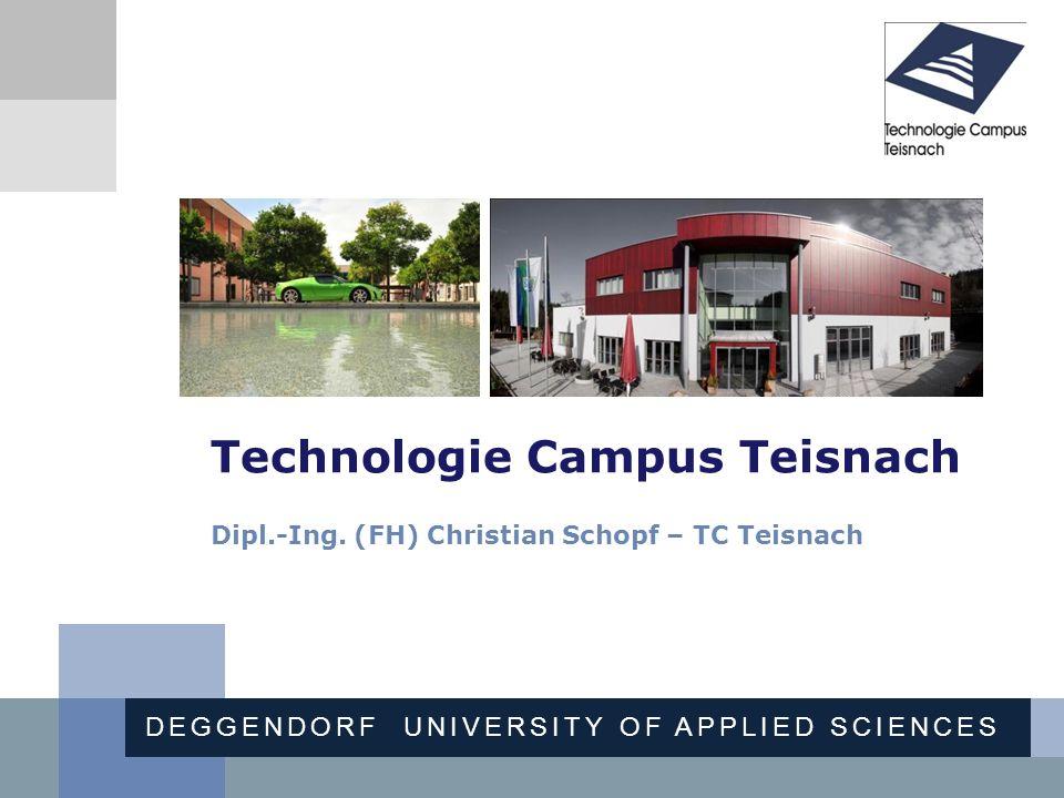 Technologie Campus Teisnach Dipl. -Ing