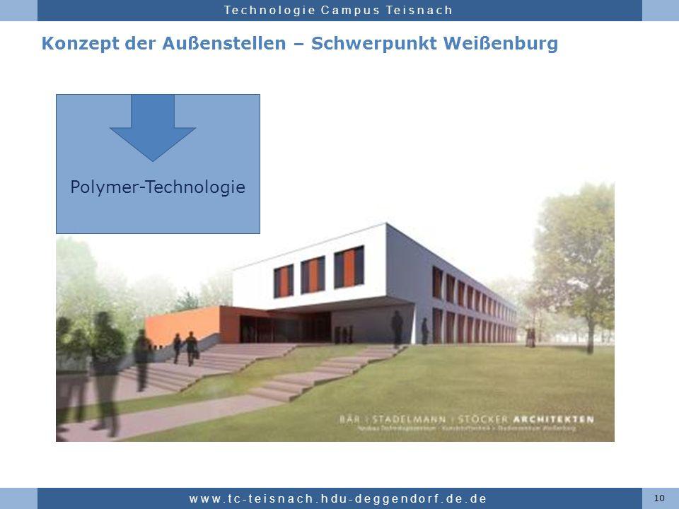 Konzept der Außenstellen – Schwerpunkt Weißenburg