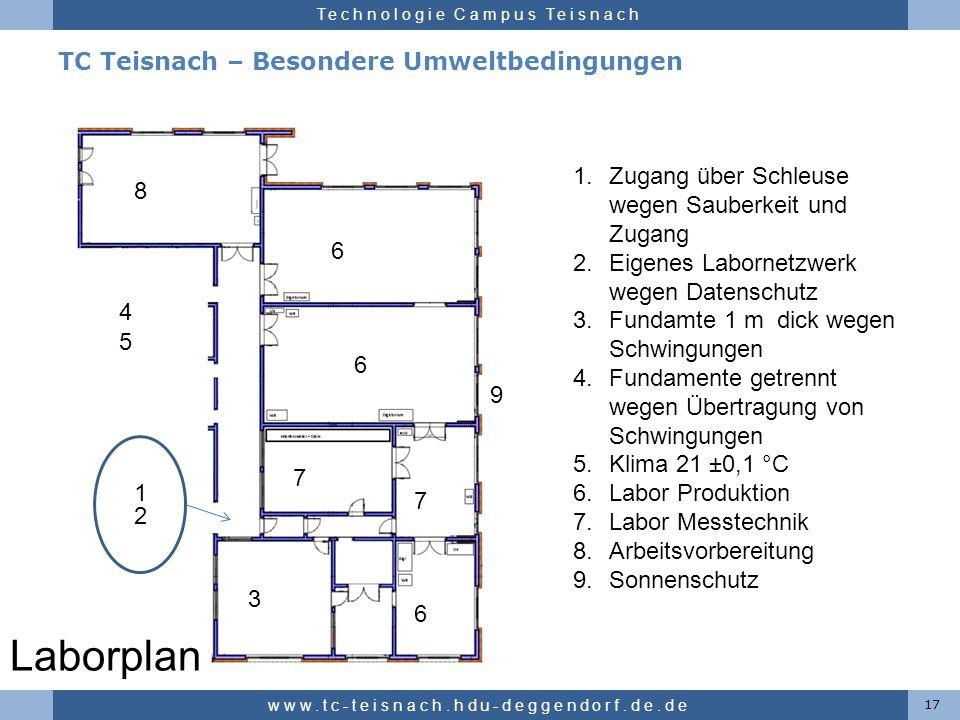 TC Teisnach – Besondere Umweltbedingungen