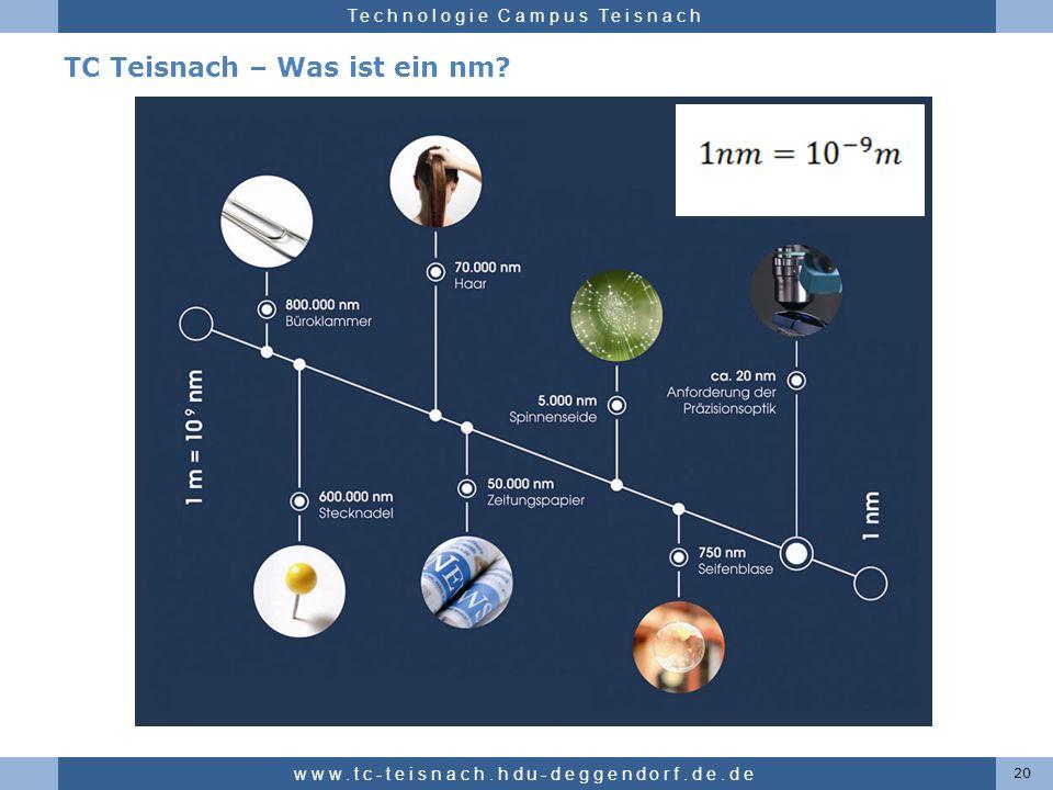 TC Teisnach – Was ist ein nm