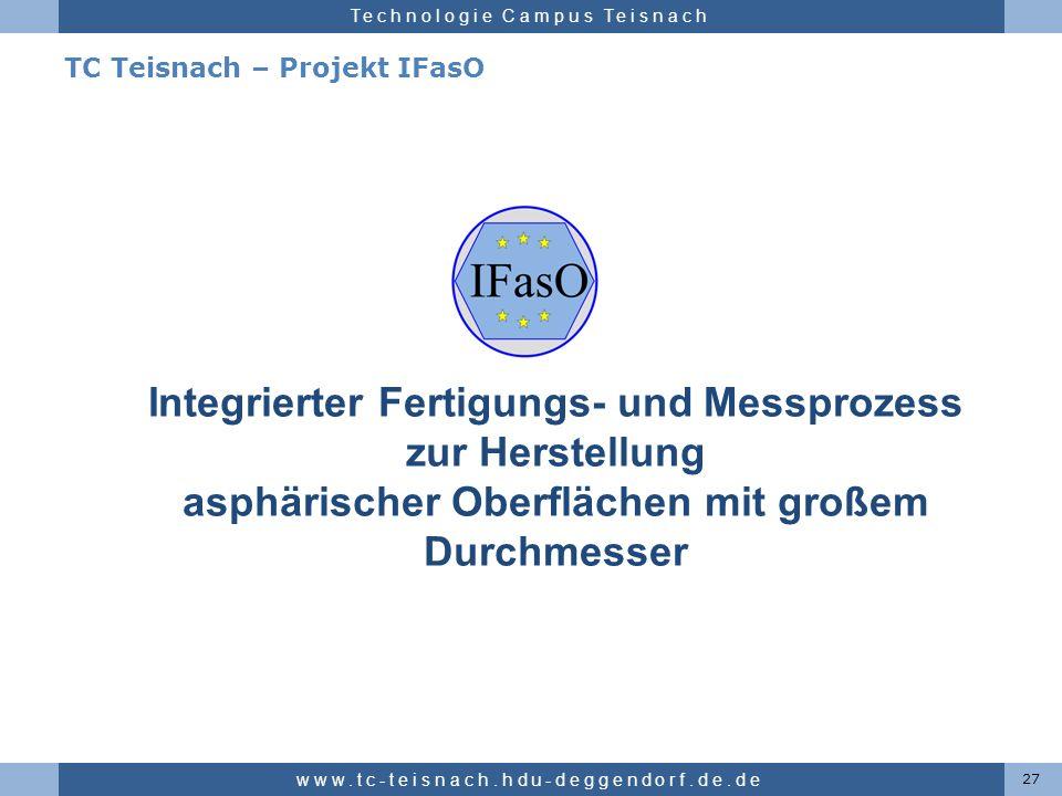 TC Teisnach – Projekt IFasO