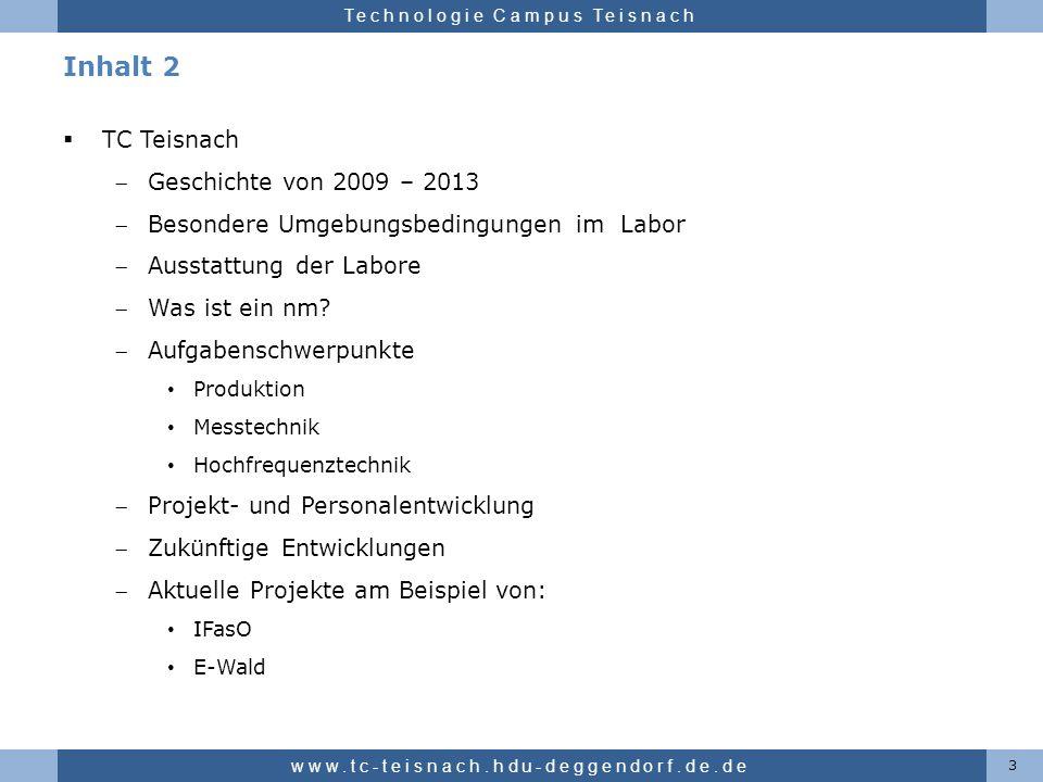 Inhalt 2 TC Teisnach Geschichte von 2009 – 2013