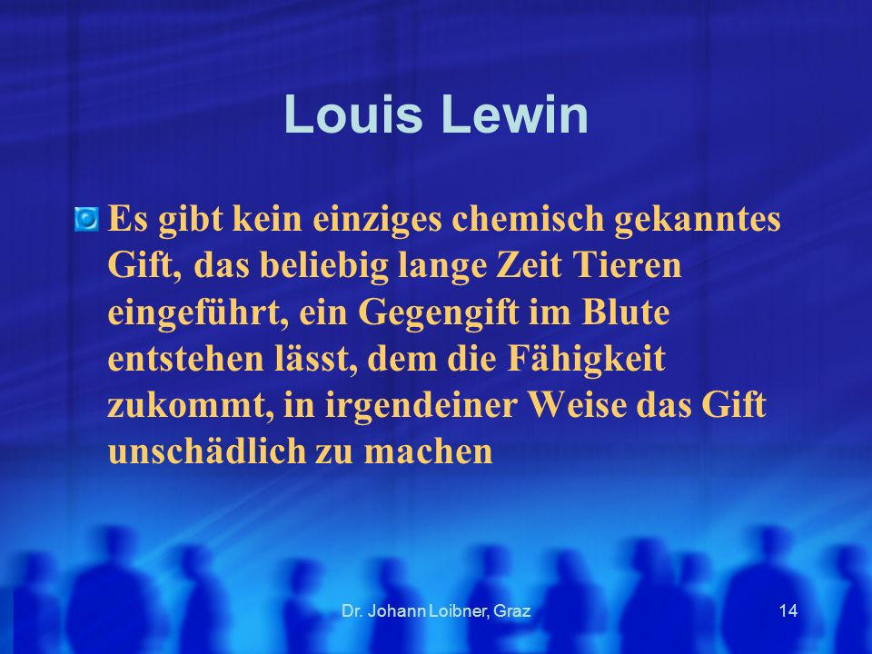 Louis Lewin