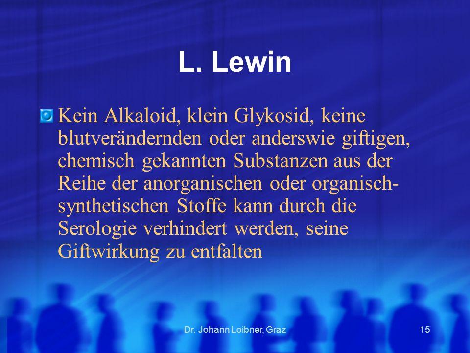 L. Lewin