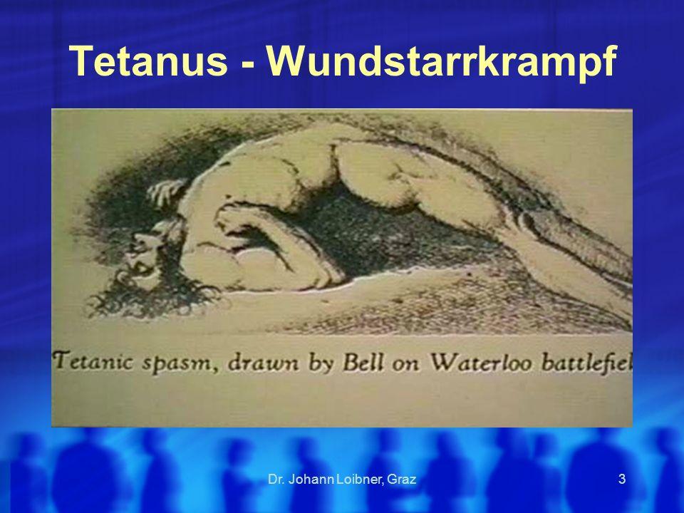 Tetanus - Wundstarrkrampf