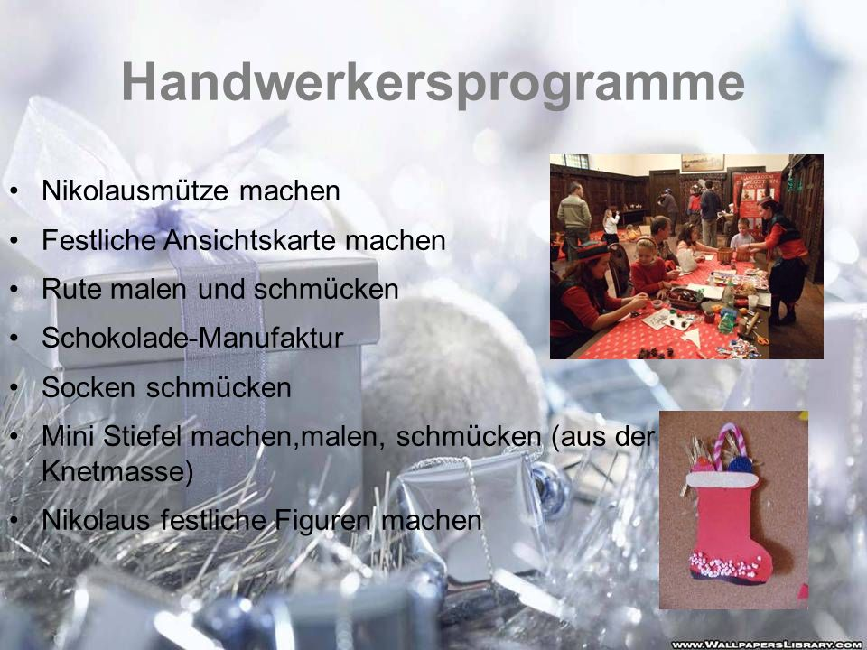 Handwerkersprogramme