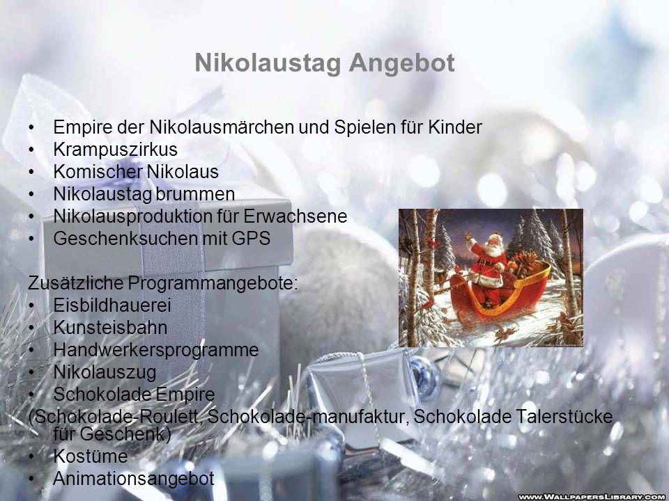 Nikolaustag Angebot Empire der Nikolausmärchen und Spielen für Kinder