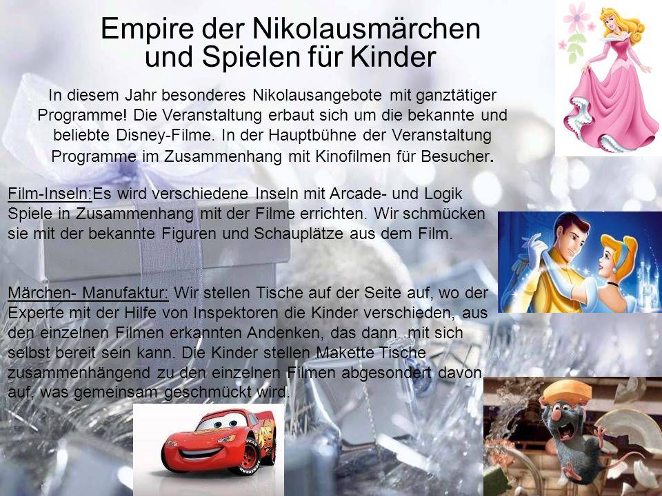 Empire der Nikolausmärchen und Spielen für Kinder