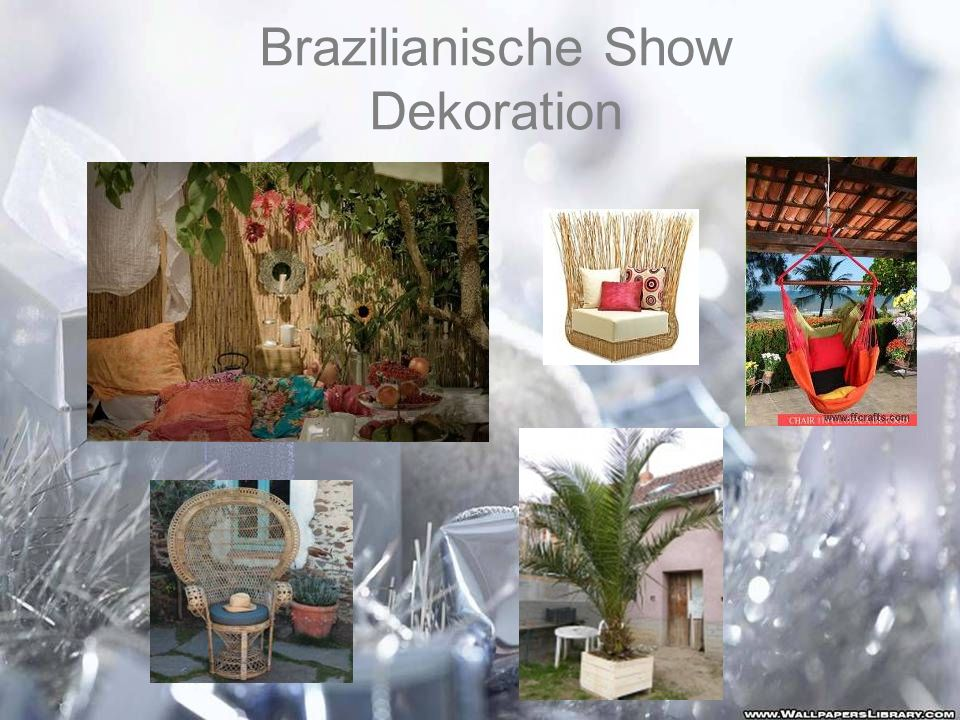 Brazilianische Show Dekoration