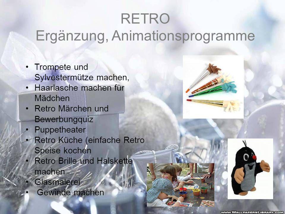 Ergänzung, Animationsprogramme