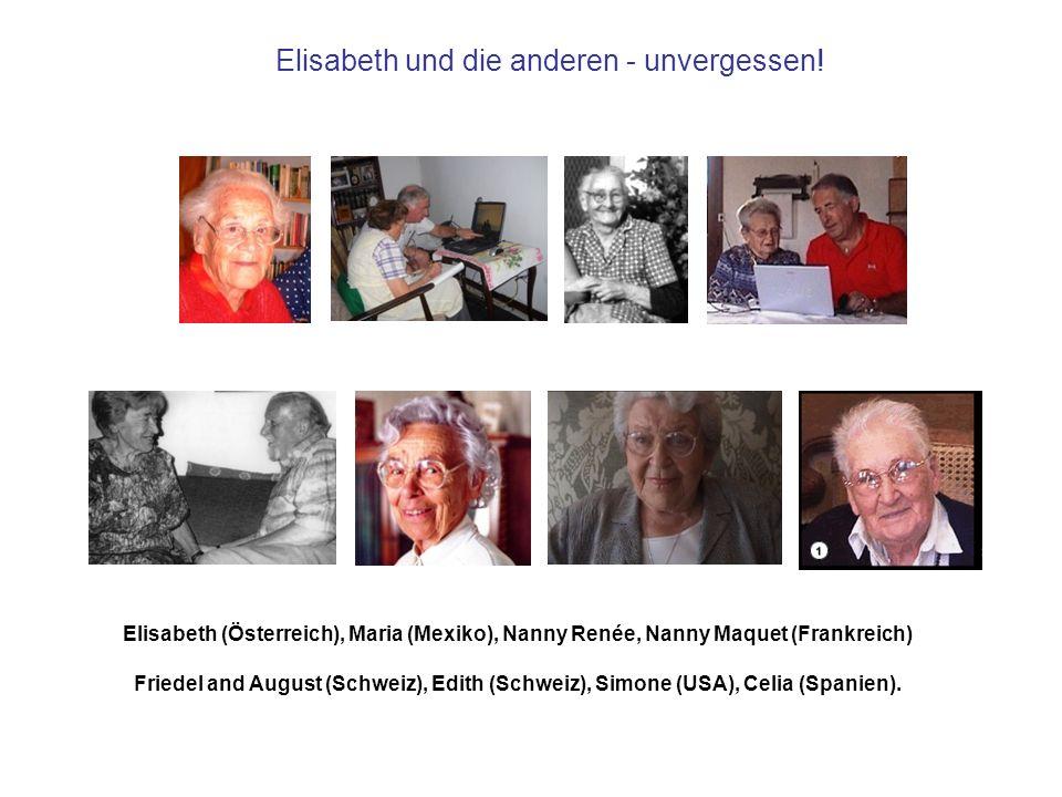 Elisabeth und die anderen - unvergessen!