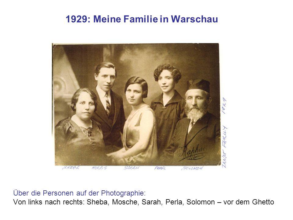 1929: Meine Familie in Warschau
