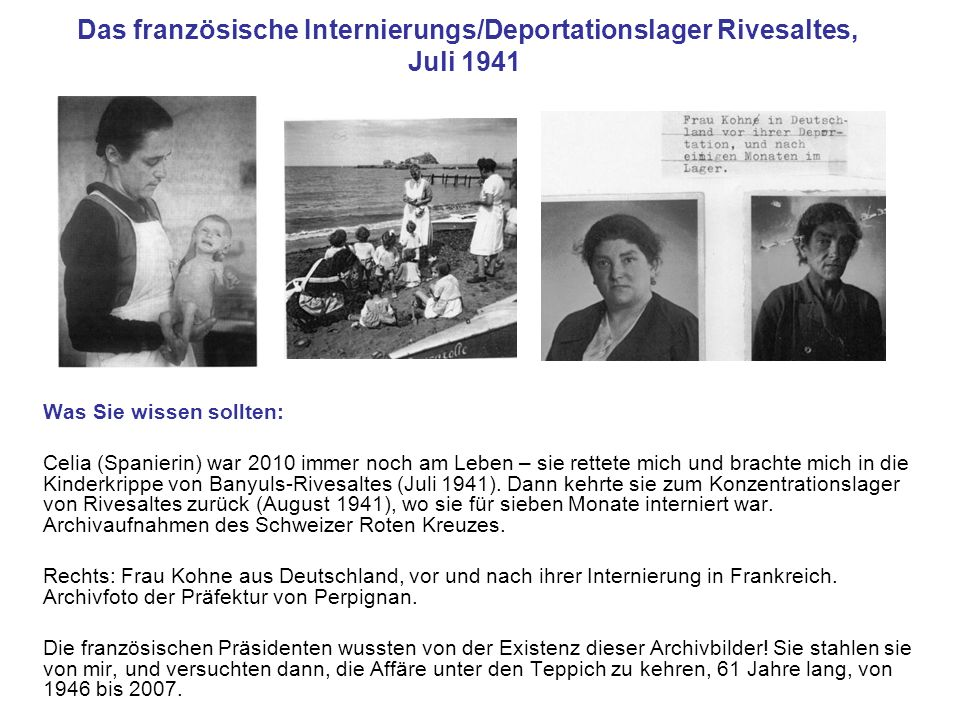 Das französische Internierungs/Deportationslager Rivesaltes, Juli 1941