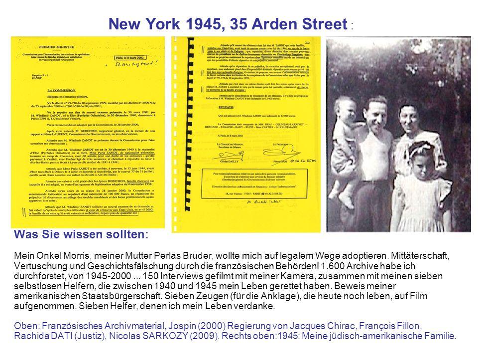 New York 1945, 35 Arden Street : Was Sie wissen sollten:
