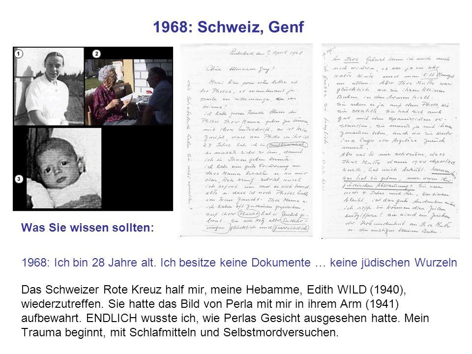 1968: Schweiz, Genf Was Sie wissen sollten: