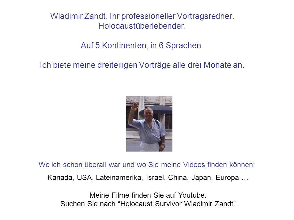 Wladimir Zandt, Ihr professioneller Vortragsredner